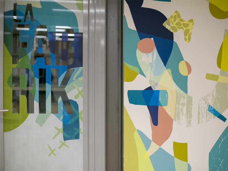 Décoration open space chez Korus